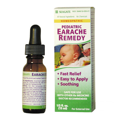 Pediatric Earache Remedy 1/2 oz Bottle