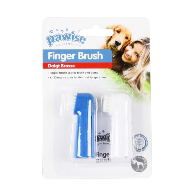 Pawise Finger Brush 2PK