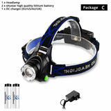 Super bright LED Headlamp Fishing lamp Headlight Zoomable 3 lighting modes - Oz-Onestop Wholesales