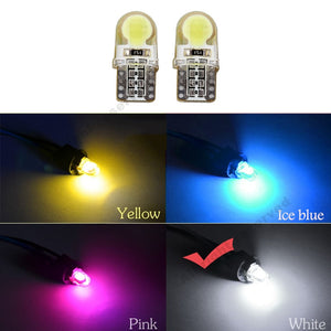 10Pcs Auto T10 Led Cold White 194 W5W LED 168 COB Silica Car Super Bright 12V - Oz-Onestop Wholesales