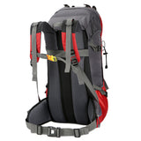60L Capacity Waterproof Mountaineering Bag Outdoor Backpack w/ Rain Cover - Oz-Onestop Wholesales