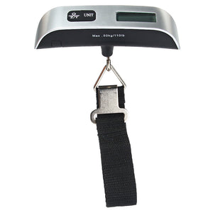 Hostweigh LCD Mini Luggage Electronic Scale Thermometer 50kg Capacity - Oz-Onestop Wholesales