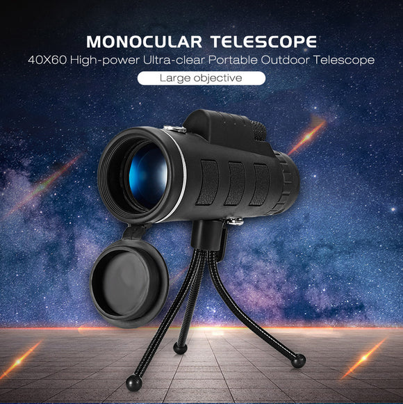 Monocular Telescope 40X60 High-power Ultra-clear Portable Outdoor with Compass - Oz-Onestop Wholesales
