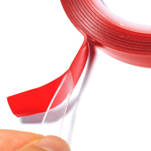 1CM Width 3M Length Car Sticker Double Foam Faced Adhesive Tape Auto - Oz-Onestop Wholesales