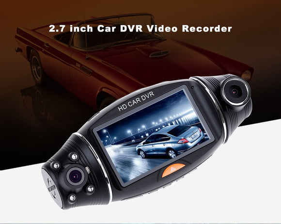 R310 GPS Double Lens / 140 Deg Wide-angle / NightVision / Gravity Sensing Dashcam - Oz-Onestop Wholesales