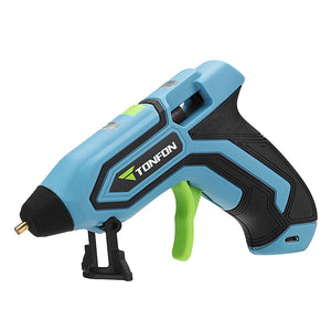 3.6V Lithium-ion Hot Melt Glue Gun with 5pcs Sticks - Oz-Onestop Wholesales