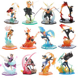 17-20cm Anime One Piece Roronoa Zoro Luffy Ace Boa Sanji shanks sabo PVC - Oz-Onestop Wholesales