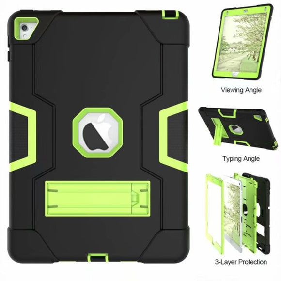 Armor Case For iPad2 iPad3 iPad4 Kids Safe Heavy Duty Silicone Hard Cover - Oz-Onestop Wholesales