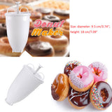 Plastic Light weight Donut Maker Dispenser Deep Fry Donut Mould Easy Fast - Oz-Onestop Wholesales