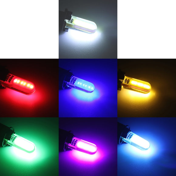 2PCS T10 W5W LED car interior light COB marker lamp 12V 168 194 501 - Oz-Onestop Wholesales