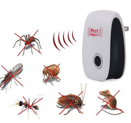Electronic Pest Repeller Ultrasonic Rejector Mouse Mosquito Rat Mouse Repellent - Oz-Onestop Wholesales