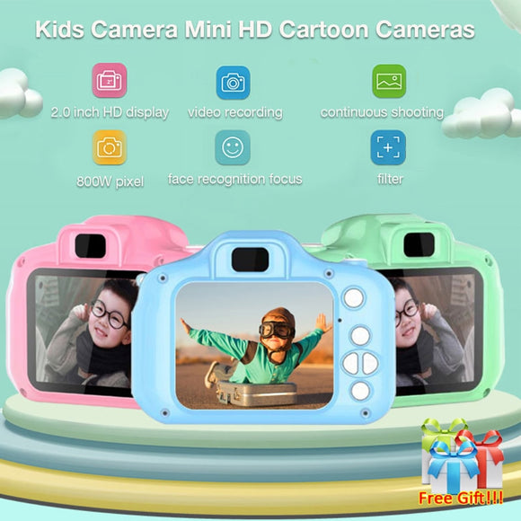 Children Mini Camera Kids Educational Toys for Children Baby Gifts Birthday Gift, camera - Oz-Onestop Wholesales, specialising in Consumer products, camera lens, sports, gadgets, electronics, security alarm & CCTV system solutions for home, office, domestic, commercial, and retails.
