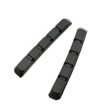 AQQ 1 Pair Mountain Bike Bicycle Brake Pads Braking V Brake Holder Shoes Rubber - Oz-Onestop Wholesales