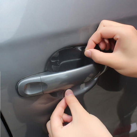 4Pcs/LOT Car Handle Protection Film Car Exterior Transparent Sticker Automotive - Oz-Onestop Wholesales