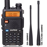 BaoFeng BF-UV5R Tri-Band Walkie Talkie 136-174Mhz/220-260Mhz/400-520Mhz - Oz-Onestop Wholesales