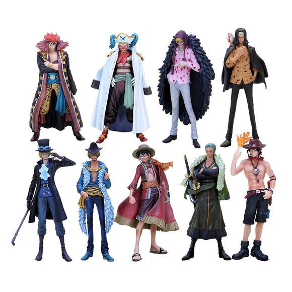 17cm Hot Anime One Piece The Grandline Men 15th Edition PVC - Oz-Onestop Wholesales