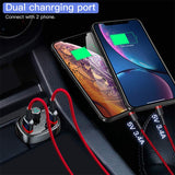 Car Charger FM Transmitter Aux Modulator Bluetooth Handsfree Audio MP3 - Oz-Onestop Wholesales