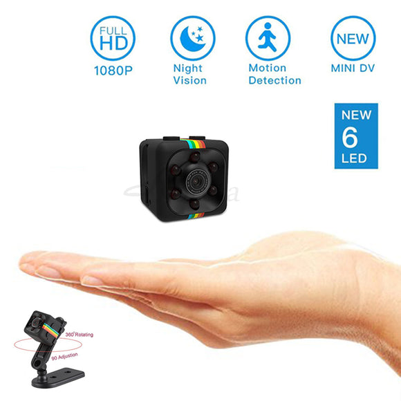SQ11 mini camera 1080P HD Sport DV DVR Monitor Concealed camera night vision - Oz-Onestop Wholesales