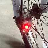 Waterproof Cycling Brake Bike Light Mount Tail Rear Bicycle Light LED High Brightness - Oz-Onestop Wholesales