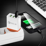 18W USB Quick charge 3.0 5V 3A for Iphone 7 8 EU US Plug Mobile Phone Fast charger - Oz-Onestop Wholesales