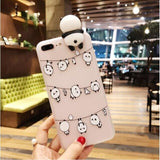 YSW 2020 NEW Cases For iPhone 11 Pro Max 3D Cute Cartoon Panda Case - Oz-Onestop Wholesales