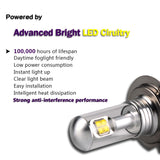 Nighteye H1 H3 H4 H7 H11 H16 80W With CREE 9005 9006 Car LED Lights 1500lm Fog - Oz-Onestop Wholesales