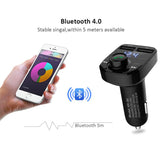 ANLUD Bluetooth Handsfree Car Kit FM Transmitter Micro SD TF MP3 Music - Oz-Onestop Wholesales