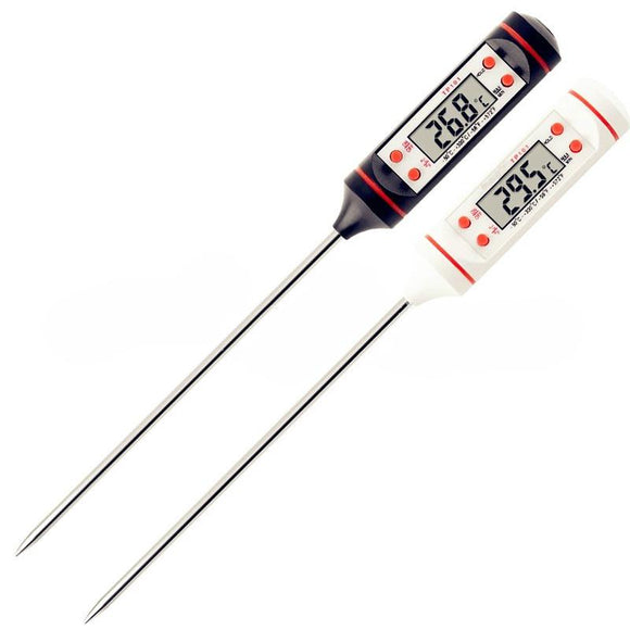 Digital Probe Meat Kitchen Cooking BBQ Food Thermometer Stainless Steel - Oz-Onestop Wholesales