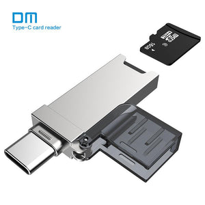 DM Type C-TF card reader Micro SD/TF Type C for MacBook or smartphone - Oz-Onestop Wholesales