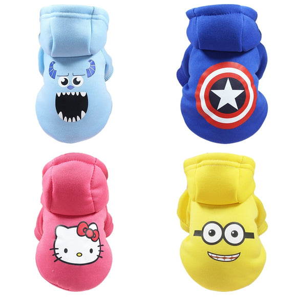 Dog Hoodies Pet Clothes For Dogs Coat Jackets Cotton Dog Clothes - Oz-Onestop Wholesales