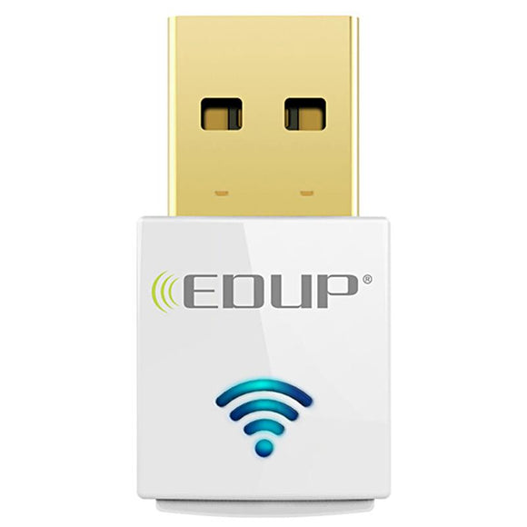 EDUP mini 5ghz adapter 600mbps 802.11ac wifi receiver Dual Band USB Ethernet - Oz-Onestop Wholesales