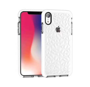 Explosive two-color diamond transparent soft shell for iphoneX XR XSMAX 6 7 8plus - Oz-Onestop Wholesales