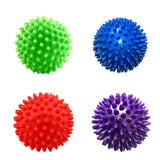 4 Colors 75mm Durable PVC Spiky Massage Ball Trigger Point Sport Fitness - Oz-Onestop Wholesales