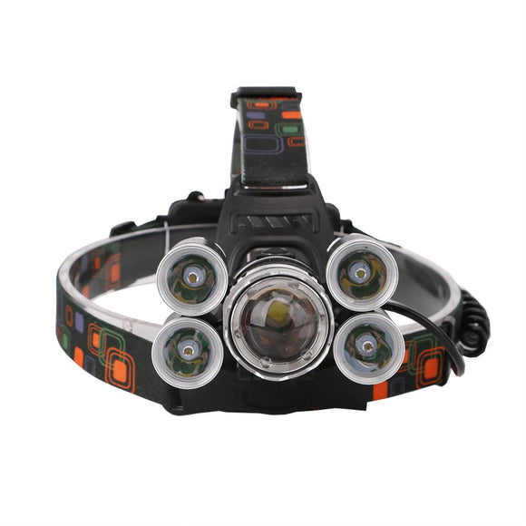 12000Lm XML T6 5 LED Headlight 4 Modes Torch - Oz-Onestop Wholesales