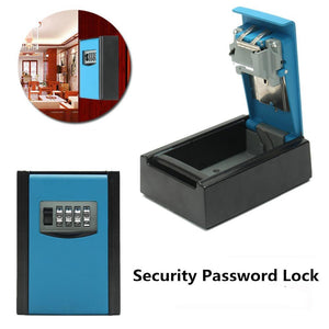 4 Digit Combination Password Safety Key Box Lock Padlock Organizer Wall Mount - Oz-Onestop Wholesales