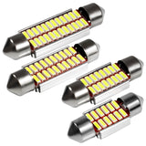 Festoon 31mm 36mm 39mm 42mm LED Bulb C5W C10W Super Bright 4014 SMD - Oz-Onestop Wholesales