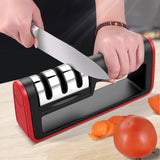 Professional Kitchen Knife Sharpener 3 Stages Diamond Ceramic Knife Sharpener - Oz-Onestop Wholesales
