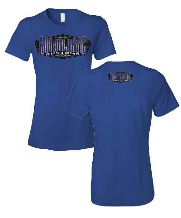 Women's Blue Shirts