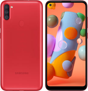 Galaxy A11 32GB Red (GSM Unlocked)