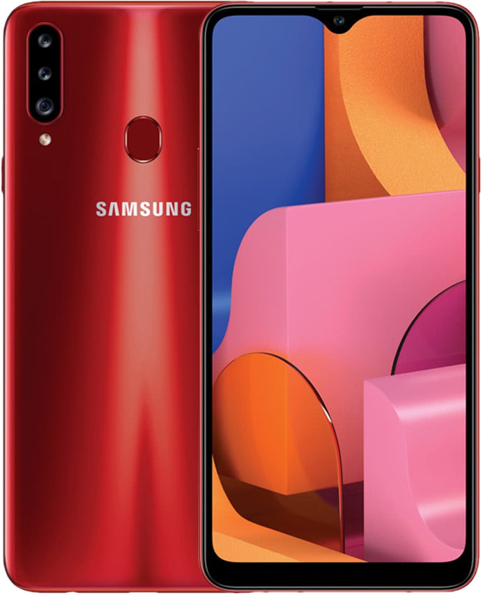 Galaxy A20s 64GB Red (GSM Unlocked)