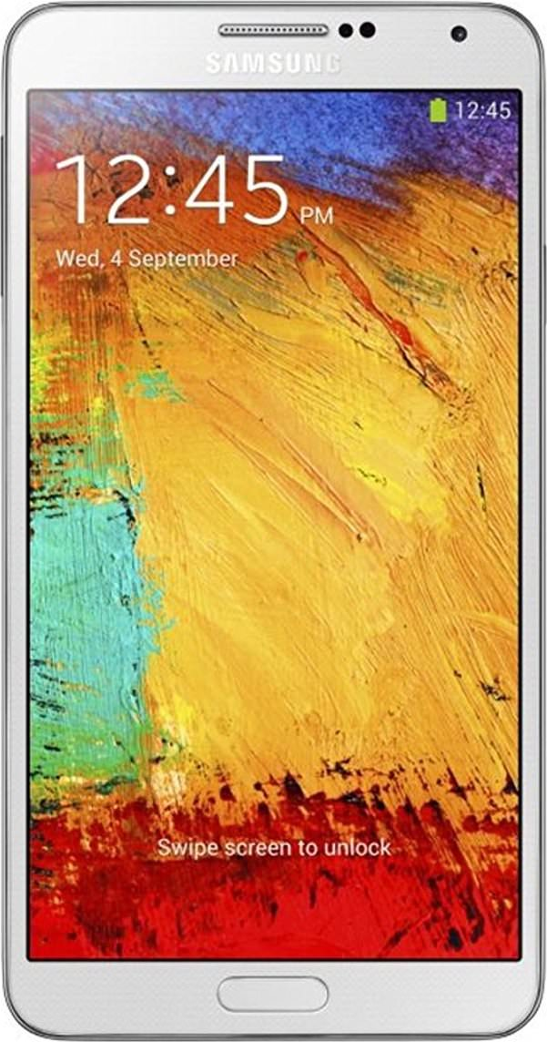 Galaxy Note 3 16GB Classic White (GSM Unlocked)