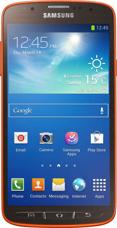 Galaxy S4 Active 16GB Orange Flare (GSM Unlocked)