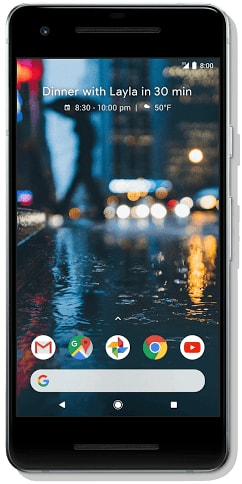 Google Pixel 2 128GB Clearly White (Verizon Unlocked)