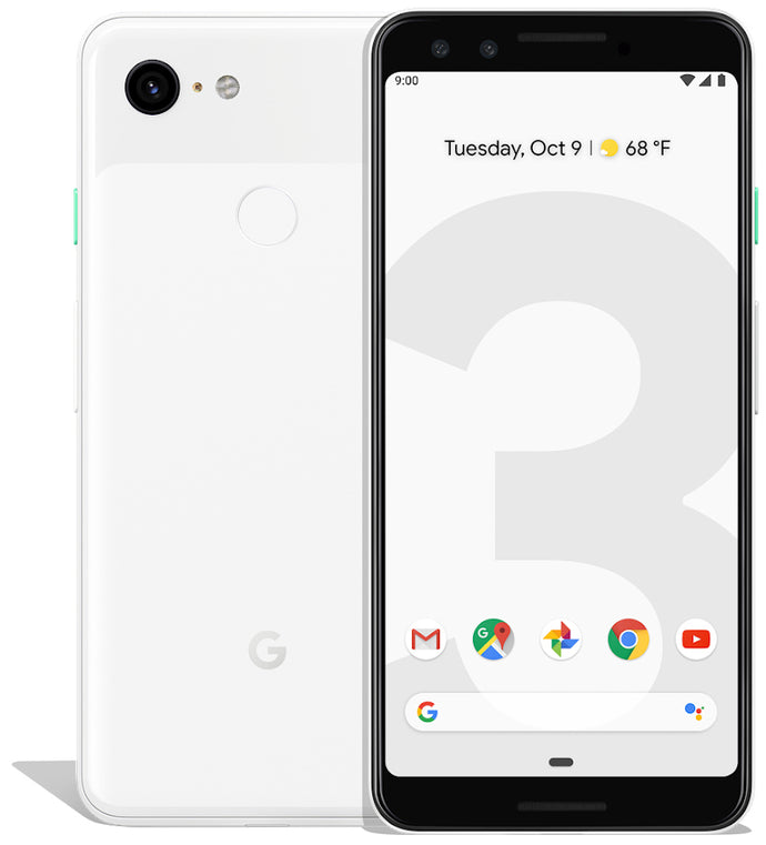 Google Pixel 3 64GB Clearly White (GSM Unlocked)