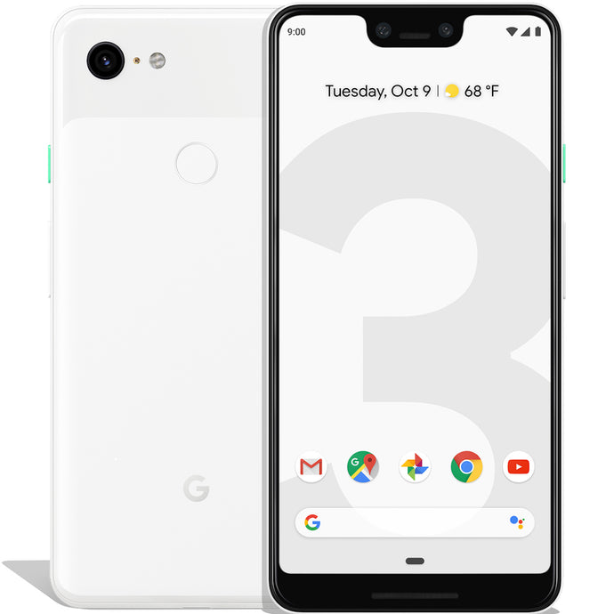 Google Pixel 3 XL 128GB Clearly White (GSM Unlocked)
