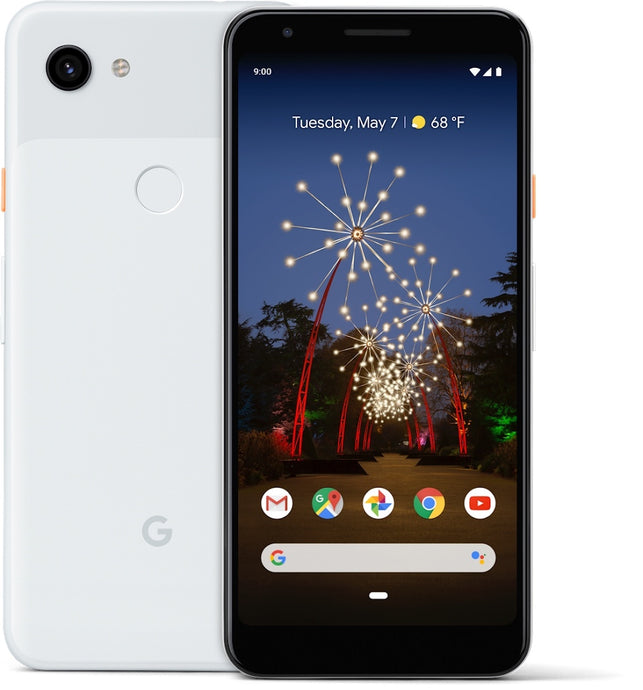 Google Pixel 3a 64GB Clearly White (GSM Unlocked)