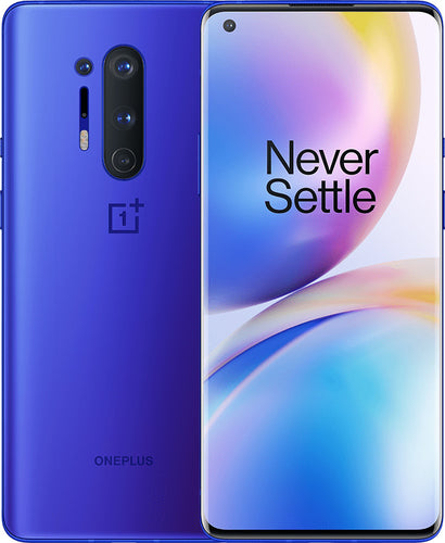 OnePlus 8 Pro 128GB Ultramarine Blue (GSM Unlocked)