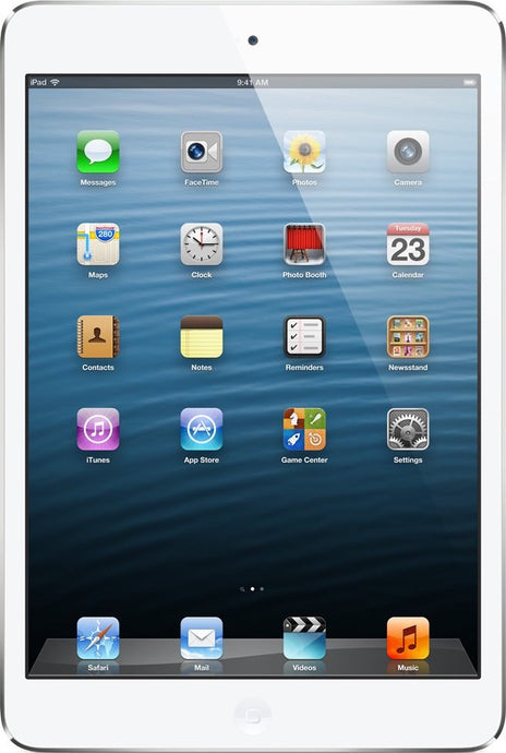 iPad Mini 1 64GB White & Silver (GSM Unlocked)