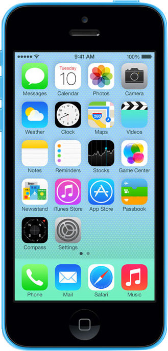iPhone 5C 32GB Blue (GSM Unlocked)