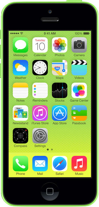 iPhone 5C 8GB Green (T-Mobile)